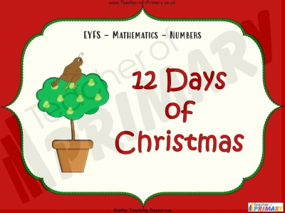 12 Days of Christmas - EYFS
