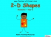 2-D Shapes - Year 2 (slide 1/40)