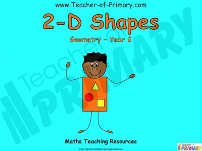 2-D Shapes - Year 2