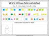 2D and 3D Shape Patterns - Year 1 (slide 10/23)