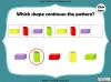2D and 3D Shape Patterns - Year 1 (slide 16/23)