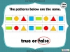 2D and 3D Shape Patterns - Year 1 (slide 20/23)