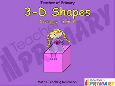 3-D Shapes - Year 2