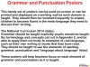 51 Grammar and Punctuation Posters (slide 2/59)