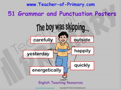 51 Grammar and Punctuation Posters