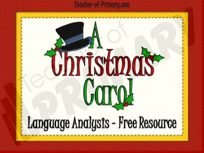 A Christmas Carol - Free Resource