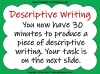 A Guide to Descriptive Writing (slide 22/35)