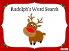 A Word Search for Rudolph (slide 1/8)