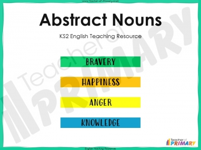 Abstract Nouns - KS2