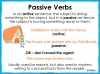 Active and Passive Voice - Year 5 and 6 (slide 3/10)