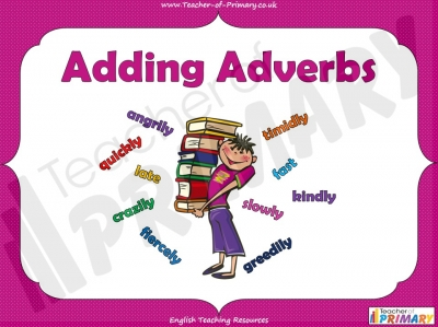 Adding Adverbs