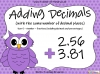 Adding Decimals (with the same number of decimal places) - Year 5 (slide 1/65)
