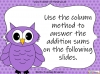 Adding Decimals (with the same number of decimal places) - Year 5 (slide 18/65)