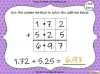 Adding Decimals (with the same number of decimal places) - Year 5 (slide 20/65)