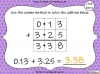 Adding Decimals (with the same number of decimal places) - Year 5 (slide 25/65)