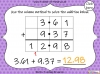 Adding Decimals (with the same number of decimal places) - Year 5 (slide 32/65)