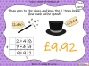 Adding Decimals (with the same number of decimal places) - Year 5 (slide 47/65)