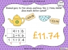 Adding Decimals (with the same number of decimal places) - Year 5 (slide 49/65)