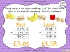 Adding Decimals (with the same number of decimal places) - Year 5 (slide 52/65)