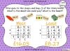 Adding Decimals (with the same number of decimal places) - Year 5 (slide 61/65)