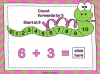 Adding Using a Number Line (slide 14/28)