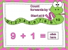 Adding Using a Number Line (slide 22/28)