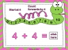 Adding Using a Number Line (slide 24/28)