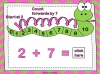 Adding Using a Number Line (slide 26/28)