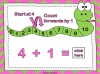 Adding Using a Number Line (slide 8/28)