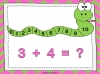 Adding Using a Number Line (slide 9/28)