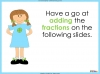 Adding and Subtracting Fractions - Year 3 (slide 13/48)