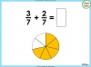 Adding and Subtracting Fractions - Year 3 (slide 17/48)
