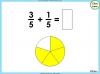 Adding and Subtracting Fractions - Year 3 (slide 18/48)