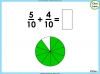 Adding and Subtracting Fractions - Year 3 (slide 19/48)
