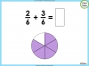 Adding and Subtracting Fractions - Year 3 (slide 20/48)