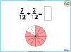 Adding and Subtracting Fractions - Year 3 (slide 23/48)