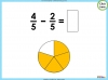 Adding and Subtracting Fractions - Year 3 (slide 32/48)
