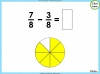 Adding and Subtracting Fractions - Year 3 (slide 33/48)