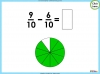 Adding and Subtracting Fractions - Year 3 (slide 34/48)