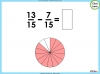 Adding and Subtracting Fractions - Year 3 (slide 37/48)