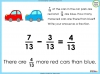 Adding and Subtracting Fractions - Year 3 (slide 45/48)