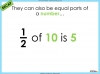 Adding and Subtracting Fractions - Year 3 (slide 6/48)