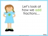 Adding and Subtracting Fractions - Year 3 (slide 9/48)