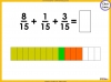 Adding and Subtracting Fractions - Year 4 (slide 20/52)