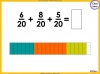 Adding and Subtracting Fractions - Year 4 (slide 22/52)