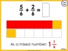 Adding and Subtracting Fractions - Year 4 (slide 29/52)