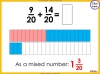 Adding and Subtracting Fractions - Year 4 (slide 31/52)