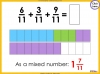 Adding and Subtracting Fractions - Year 4 (slide 34/52)