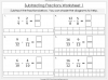 Adding and Subtracting Fractions - Year 4 (slide 41/52)