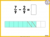Adding and Subtracting Fractions - Year 4 (slide 43/52)